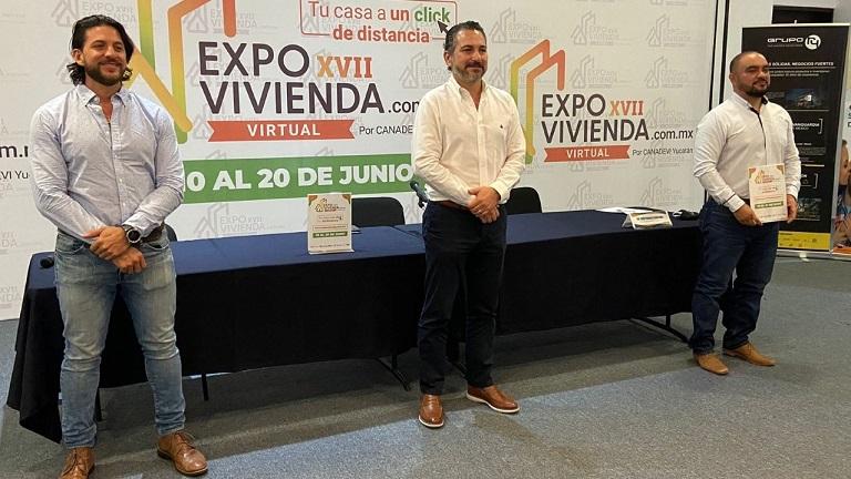 Del 10 al 20 de junio, la XVII Expo Vivienda en Yucatán
